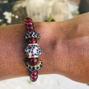 Red garnet bracelet
